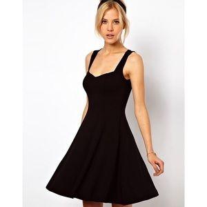 ASOS Skater Dress Sweetheart Neckline 2